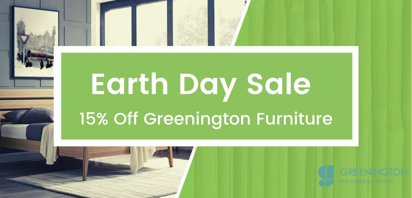 Earth Day Greenington Sale