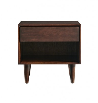 Jensen 1 Drawer Nightstand in Sable