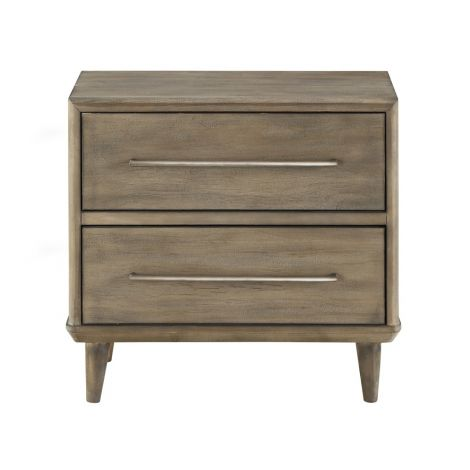 Takara Two Drawer Nightstand