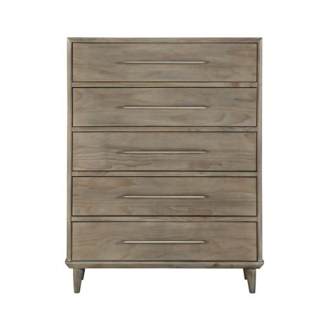 Takara Five Drawer High Chest