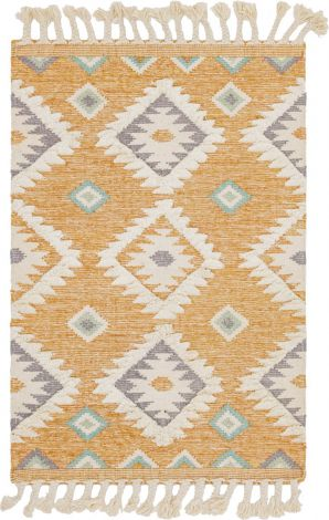 Santa Fe Rug in Yellow