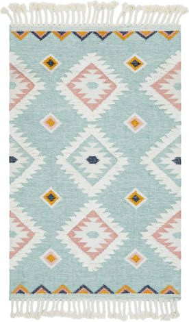 Santa Fe Light Blue Rug