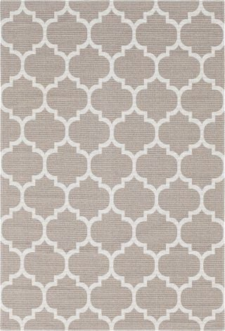 Moroccan Trellis Taupe Rug