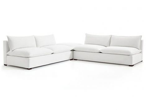 Organic Gaia Armless 3 Piece Modular Sectional