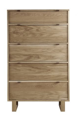 Fulton High Chest in Sand wood finish