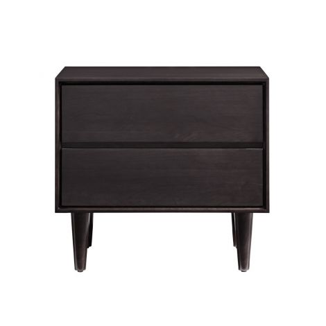 Jensen 2 Drawer Nightstand in Graphite
