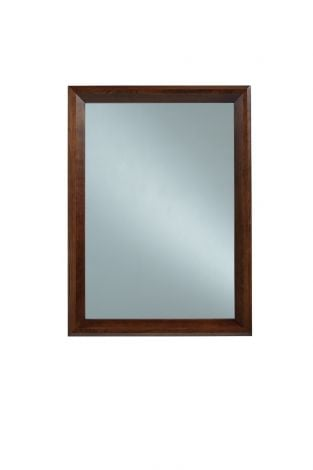 Camber Mirror in Umber