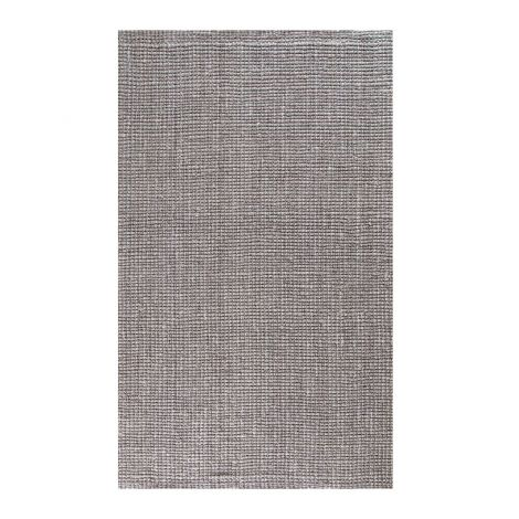 Andes Gray Jute Area Rug