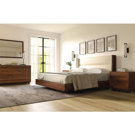 Sloane Bedroom Collection in Natural Walnut