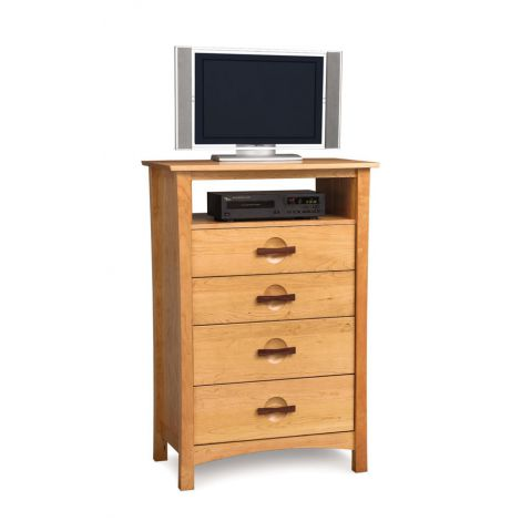 Berkeley 4 Drawer Chest  TV Organizer