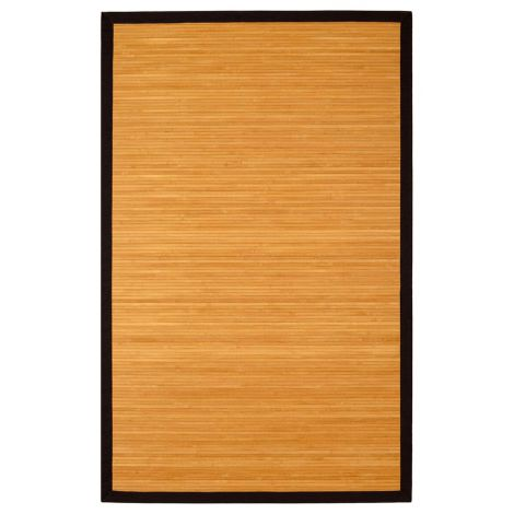 Contemporary Bamboo Rug in Natural