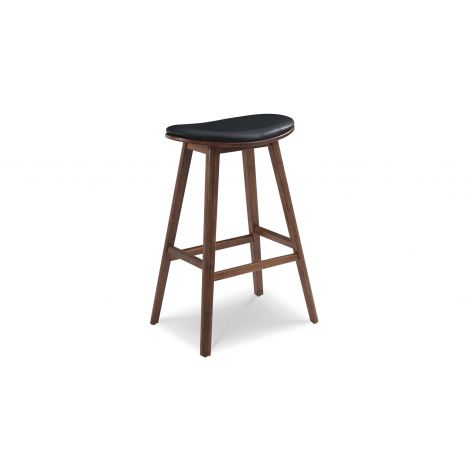 Corona Leather Seat Stool