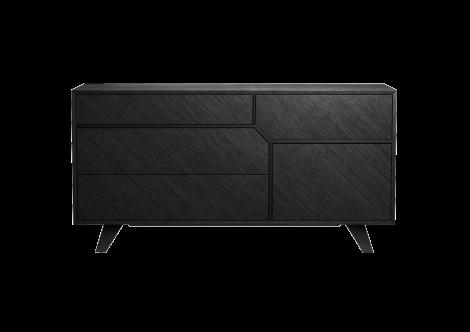 Rivington Dresser in Gray Oak