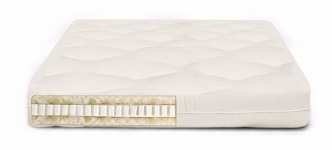 Pure Sleep Latex and Wool Medium-Firm Futon Mattress