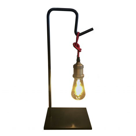 Element Industrial Edison Bulb Hook Lamp