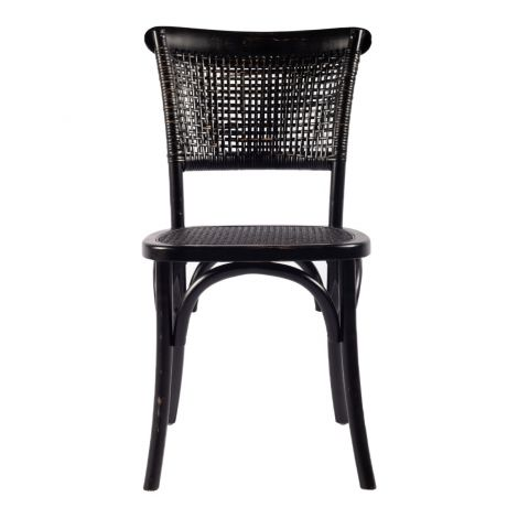 Churchill Chair in Antique Black- Set of 2