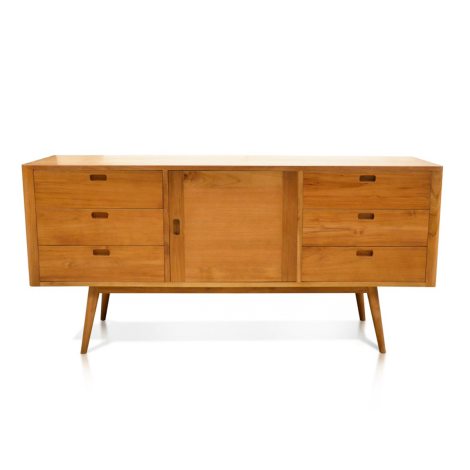Fifties 6-Drawer Dresser