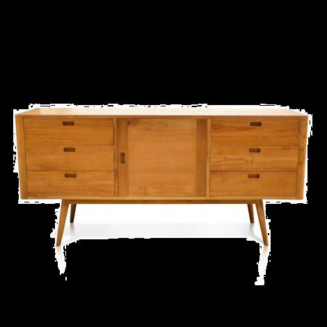 Fifties 6-Drawer Dresser