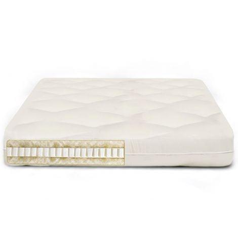 Sereno 8 Inch Organic Cotton, Latex & Wool Futon