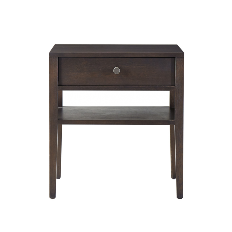 Hayden Nightstand in Carbon wood finish