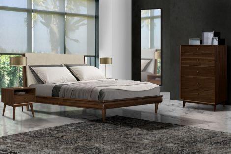 Dean 4 Piece Tower Dresser Bed Set
