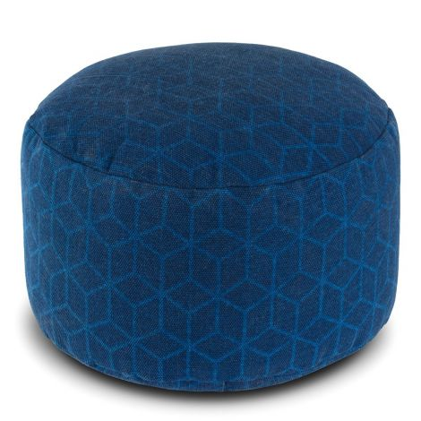 Cobalt Dream Pouf