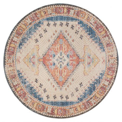 Long Medallion Area Rug