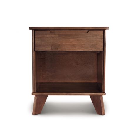 Linn 1 Drawer Nightstand in Natural Walnut