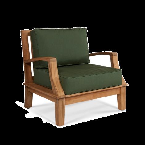 Grande Outdoor Club Chair with Fern Cushion