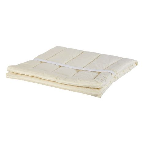 Natural Sleep Children's Washable Wool Mattress Pad