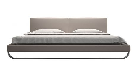 Chelsea Platform Bed in Castle Grey