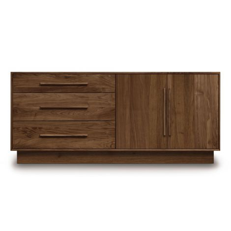 Moduluxe 2 Door, 3 Drawer Dresser-2 Doors Right, 3 Drawers Left Style