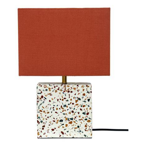 Terrazzo Square Table Lamp