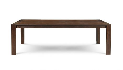 "76"" Phase Dining Table in Walnut extended"