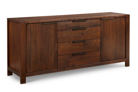 Phase Buffet in Walnut wood finish