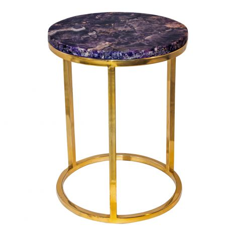 Amethyst Accent Table
