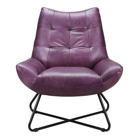 Graduate Lounge Chair in Purple