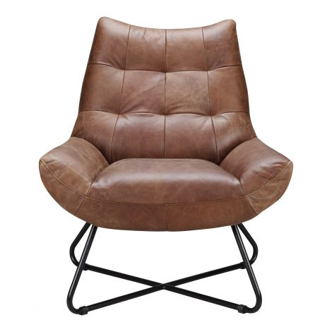 Graduate Lounge Chair in Cappuccino