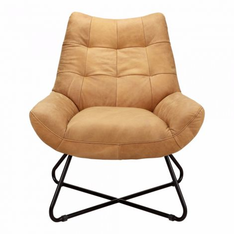 Graduate Lounge Chair in Tan