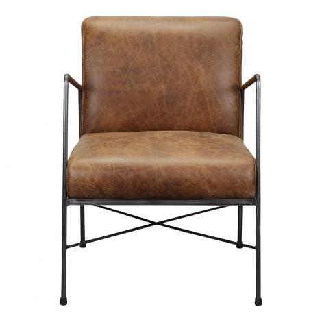 Dagwood Leather Arm Chair