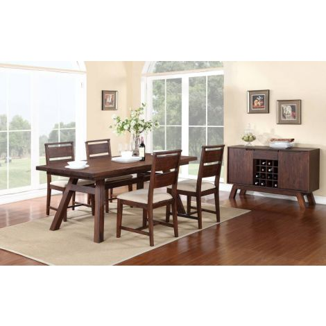 Portland Rectangular Dining Room Table Set