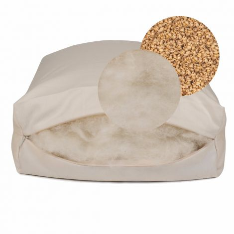 Rejuvenation Hull and Wool Pillow