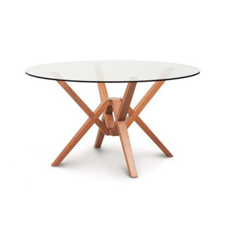 Exeter Round Glass Top Table
