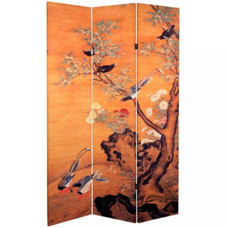 Japanese Landscape Shoji Screen Side 1