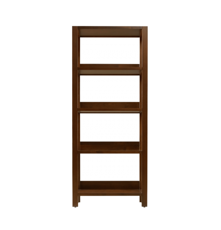 Phase Small Bookshelf in Walnut wood finish