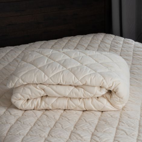Sweet Dreams Washable Wool Mattress Pad