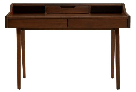 Serra Desk in Walnut wood finish
