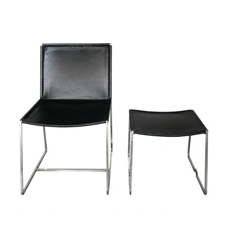 Hudson Lounge Chair with Ottoman