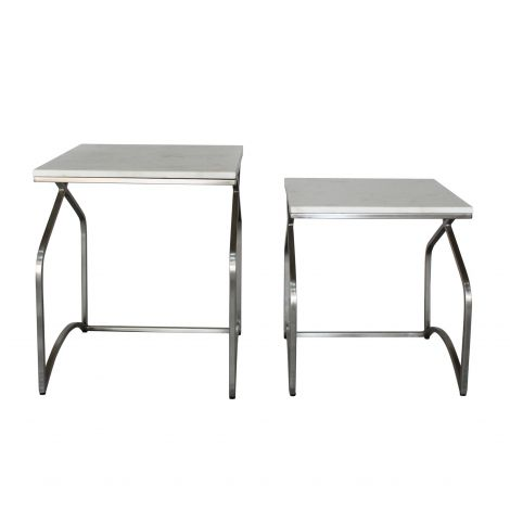 Leonardo Square Nesting Side Tables