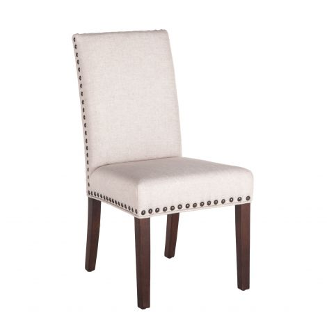 Bristol Linen Dining Chair, Set of 2